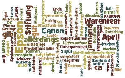 Druckerpatronen Vergleich 2011